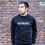 Antwerpen-man-sweater-zwart