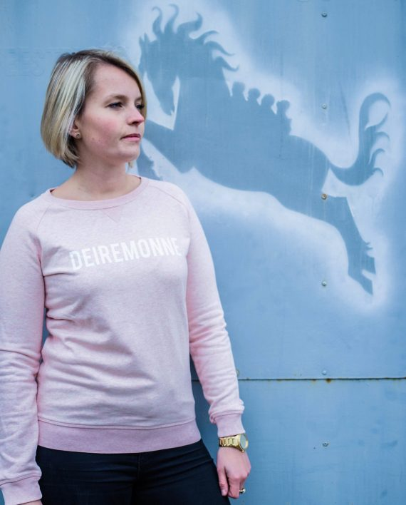Sweater dendermonde roze