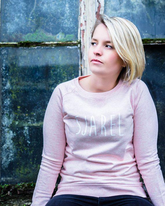 sweater sjarel roze vrouw