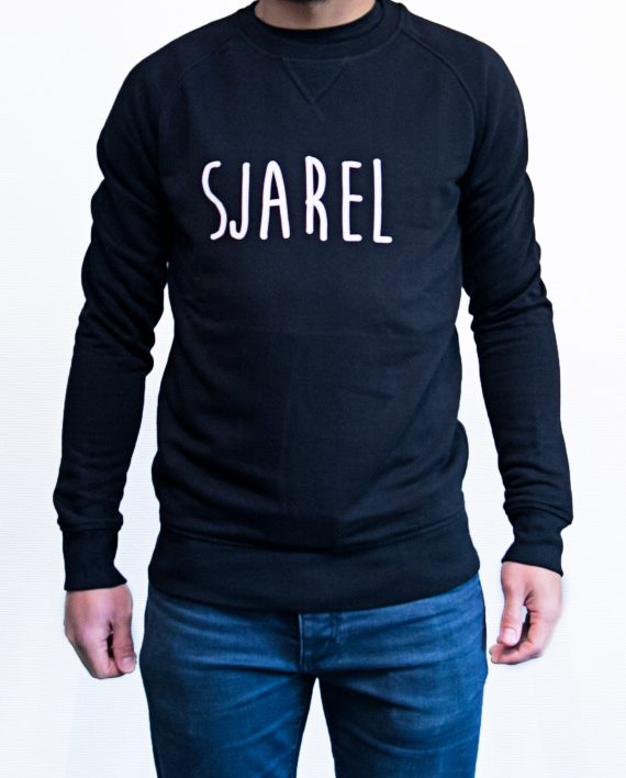 sweater sjarel man zwart