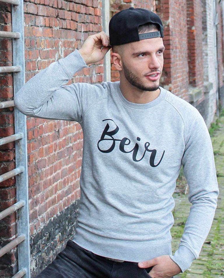 sweater opschrift dialect