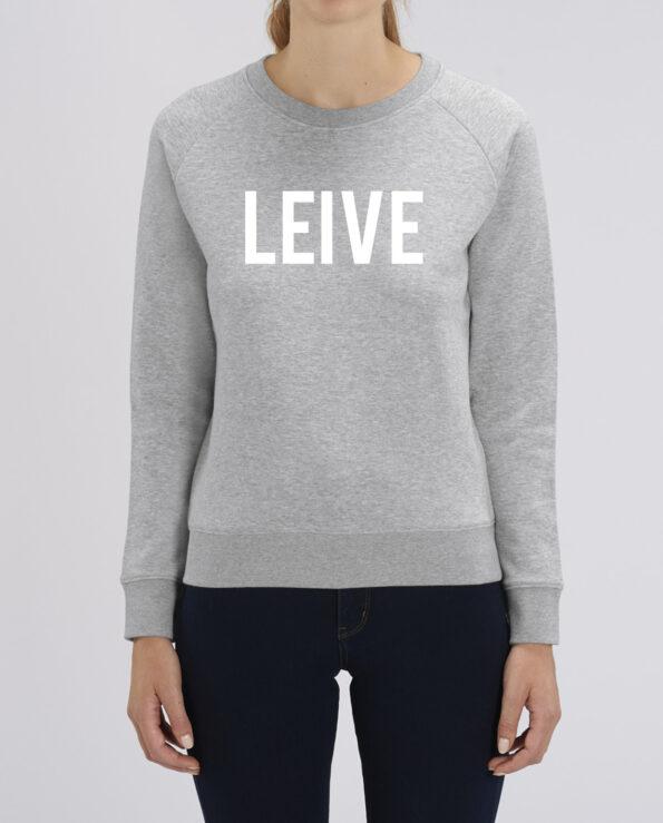 sweater opschrift leuven