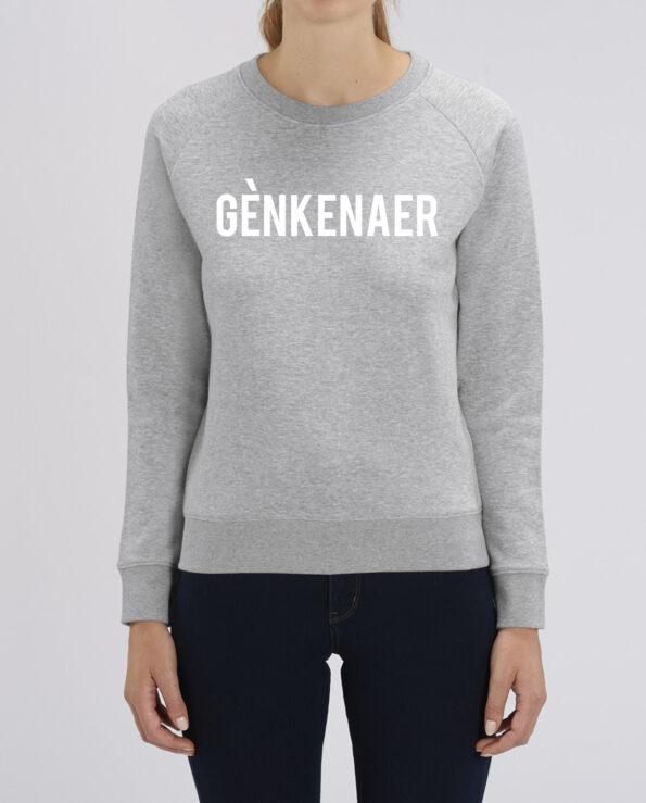 sweater opschrift genk