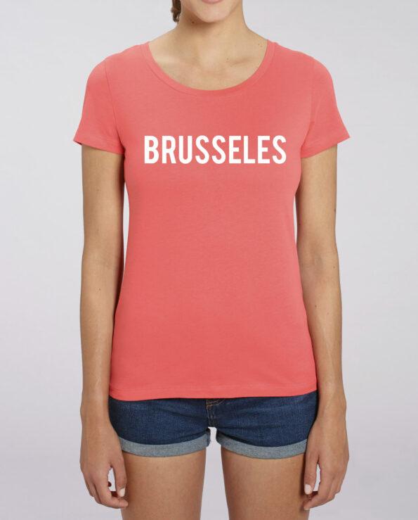 t-shirt opschrift brussel